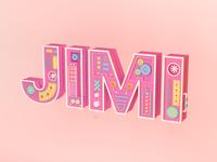 Jimi Logo C4D Type