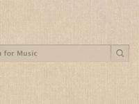 Linen Grooveshark Theme rv9