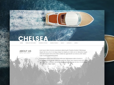 J51 Chelsea - Joomla Template webdesign menu navigation web ui design template cms joomla
