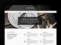 J51 Hayley - Joomla Template