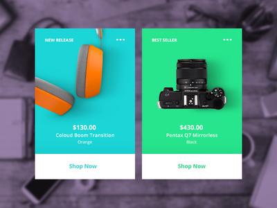 Card Inspiration layout color button shop ecommerce ux ui design webdesign web cardinspiration cards