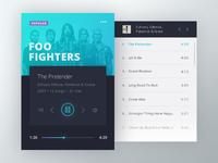 Music Widget - Foo Fighters