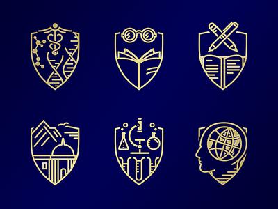 Achievement Badges accomplishments awards shields achievement badges