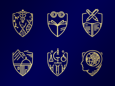 Achievement Badges accomplishments awards shields achievement badges
