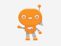 Chat Robot Concept