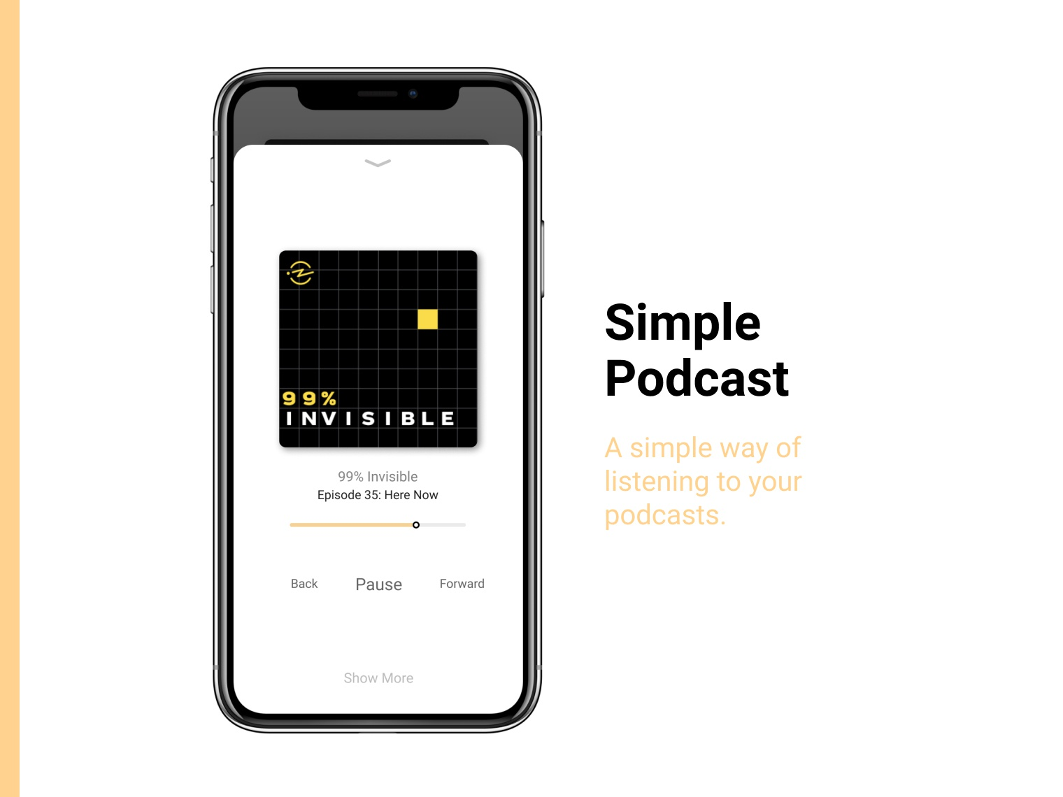 Simple Podcast app (Figma)