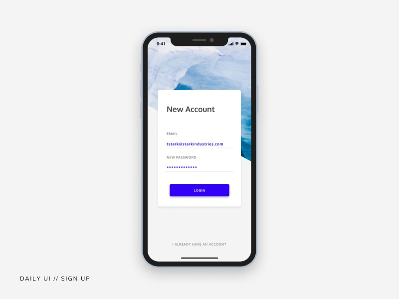 Sign Up // Daily UI