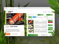 [ UI - UX Design ] - Food ordering service