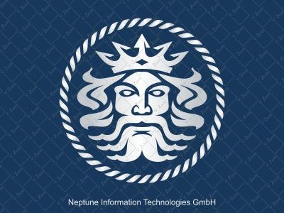Logo design for Neptune Information Technologies GmbH