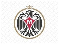 Heraldic Vintage Eagle Logo