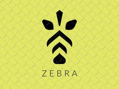 Zebra Logo logo for sale zoo wild life africa animal zebra logo zebra