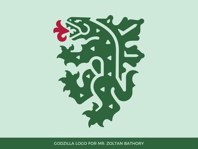 Godzilla logo animal logo dragon logo godzilla logo beast fantastic creature dragon godzilla shield heraldry