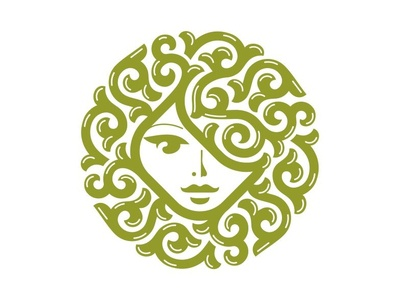 Woman head logo