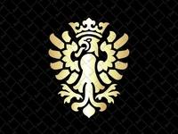 Golden Eagle Crest Logo
