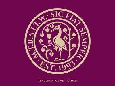 Crane logo winery logo wine glass logo bird logo tree logo wine logo crane logo vintage logo seal logo
