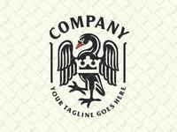 Black Swan Crest Logo
