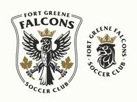 Falcons soccer club logo