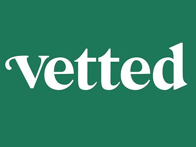 Vetted logo logo