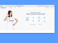 Progressive.com Homepage