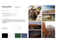 fifty-nine parks Style Guide