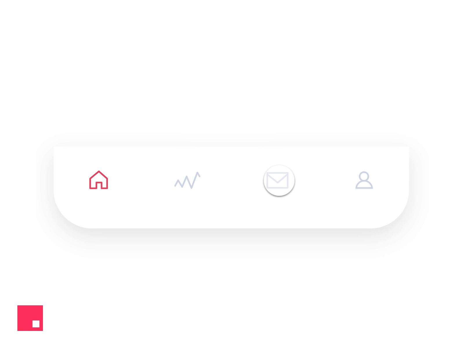 27个 底部 tab bar 动画设计灵感