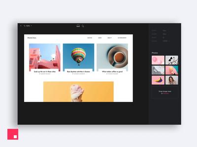 InVision Studio — Drag and drop
