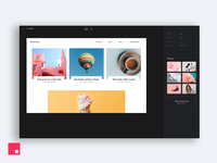 InVision Studio — Drag and drop