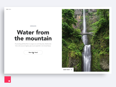InVision Studio — Waterfall Transition motion design timeline waterfall image invision studio invisionstudio interaction transition invision design tools animation design