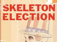 Skeleton election dribbble