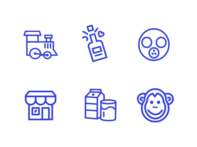 metropolicons 4000 line and filled icons web collection glyphs filled design line icons