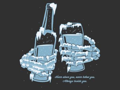 Cheers! design illustration vector beers cheers