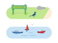 Beach/Water Life
