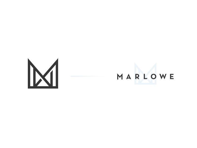 Harry luxton marlowe m logo