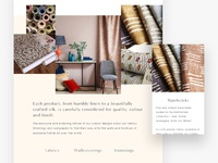 Interior web layout harry luxton hr