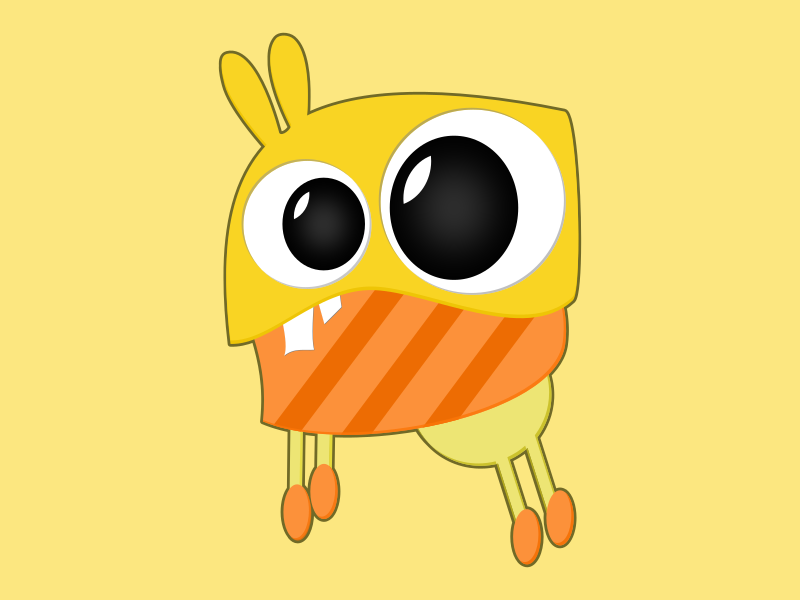 Beezy board game character cool monster