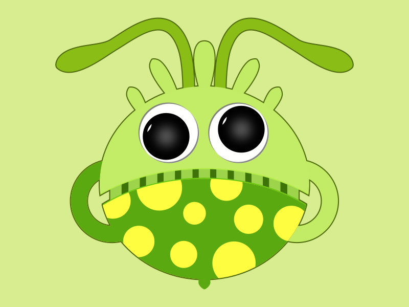 Cupzy board game character cool monster