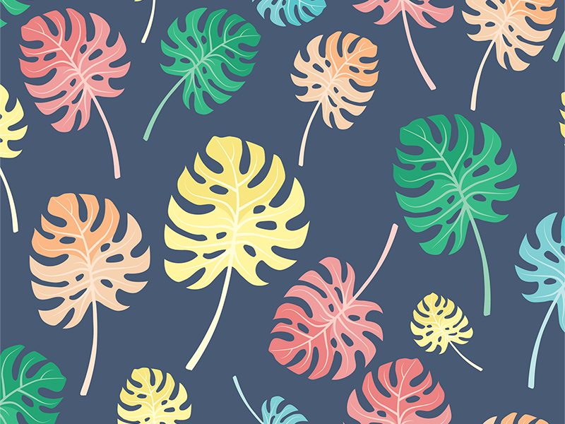 Tropical Leaves Seamless Pattern free download freebie surface pattern iphone background iphone wallpaper tropical seamless pattern pattern seamless