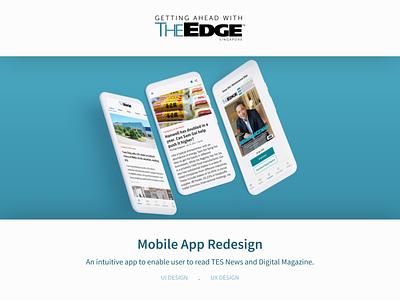 News App Redesign mobile app design ui redesign news app redesign ux web website mobile design ui