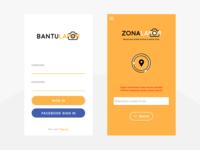 Remake Bantu Lapor App UI Design
