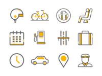 Rental Icons Set