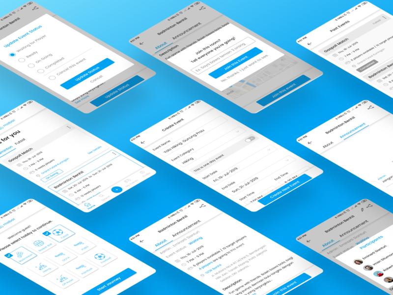Mabar App UI Design