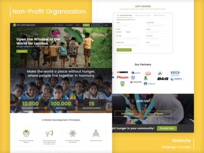 Non-Profit Organization Website