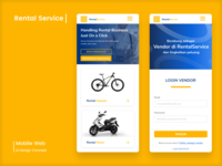 Rental Service Mobile Web App