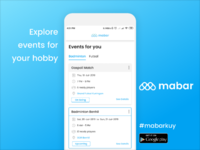 Mabar Home Page Design