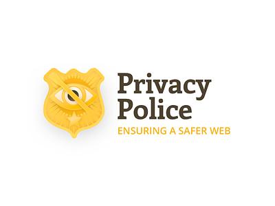 Privacy Police Logo nypd logo badge police branding privacy