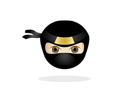 Ninja Emoji korea china asian ninja face war unicode emoji japan samurai