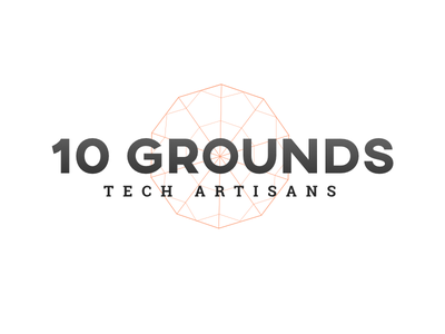 10 Grounds branding logo developers artisans umbrella software tech