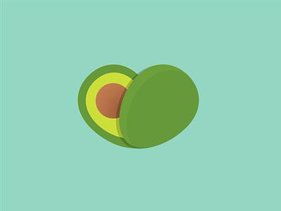 Avocado Hearth mexico icon logo fresh guacamole hearth avocado