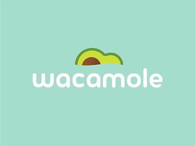 wacamole island beach avocado guacamole brand logo