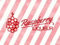 Rasberry Liqueur Label